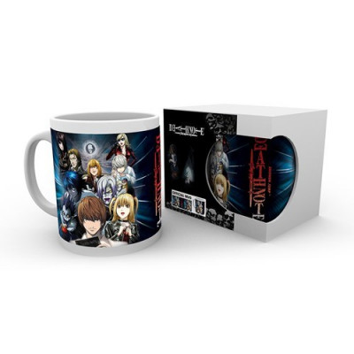 Death Note Characters 320ml Tasse
