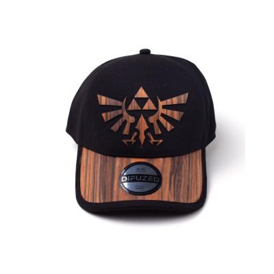 The Legend of Zelda - Hyrule Logo - Kappe Holz-Braun Schwarz