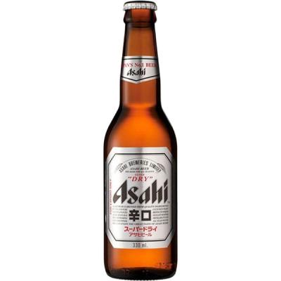 Asahi Super Dry Beer - Flasche 330ml