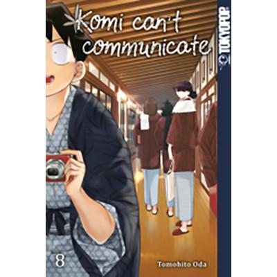 Komi can't communicate 8 Manga