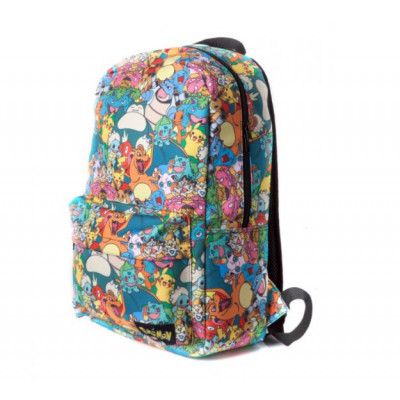 Pokémon - Characters All Over - Printed Backpack