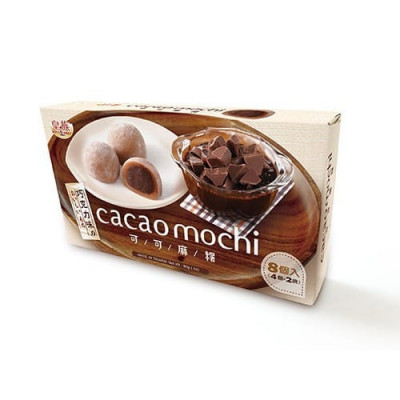 Mochi - sticky rice cake - cocoa and chocolate in gift box 80g
