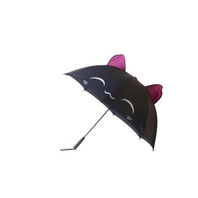 Black Cat Neko Regenschirm
