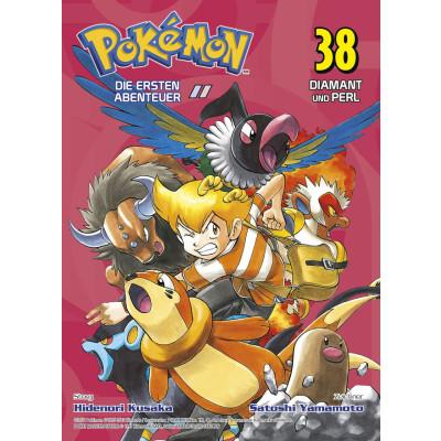 Pokémon - Die ersten Abenteuer 38 Manga