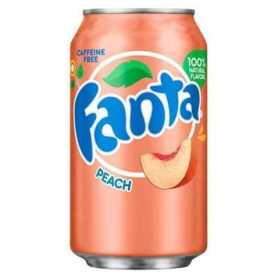 Fanta Peach 355ml Can