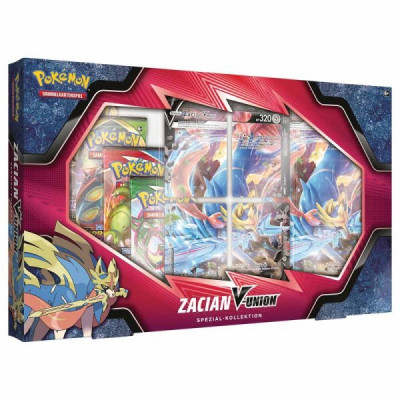 Pokémon Zacian V Union Box - deutsch