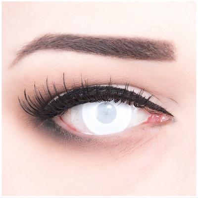 Blind mentalist contact lenses