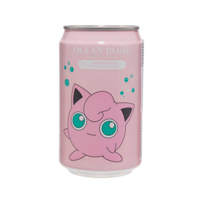 Ocean Bomb Pummeluff Pokemon Peach 330ml Dose