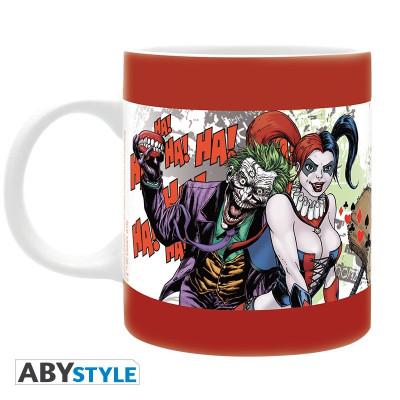 DC Comics Suicide Squad Harley Quinn & Joker Forever Evil 320ml Tasse