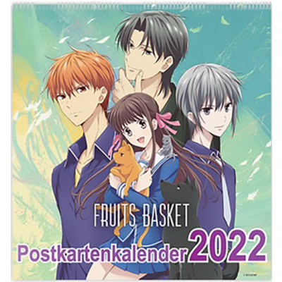 Fruits Basket - Postkartenkalender 2022