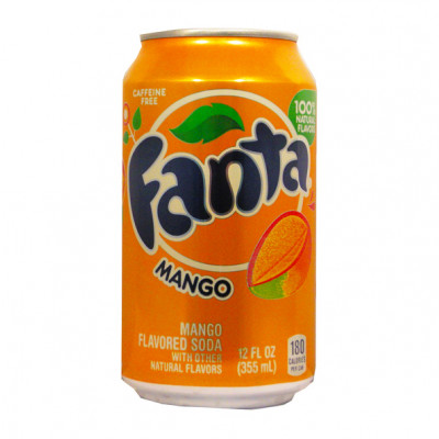 Fanta Mango 355ml Can
