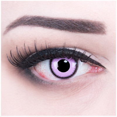 Purple Lunatic Kontaktlinsen