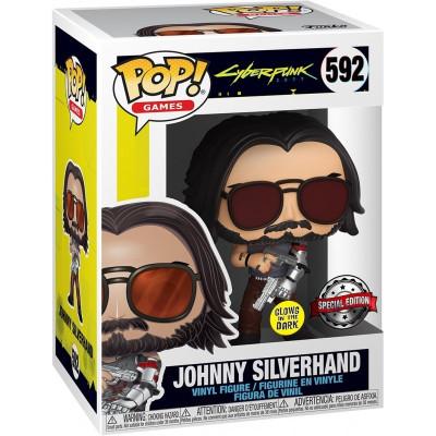 Funko POP! #592 - Cyberpunk 2077 Johnny Silverhand - 9cm Vinyl Figur