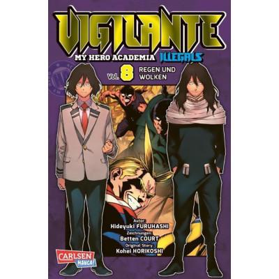 Vigilante - My Hero Academia Illegals 8 Manga
