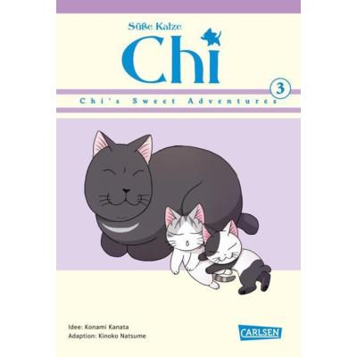 Süße Katze Chi: Chi's Sweet Adventures 3 Manga