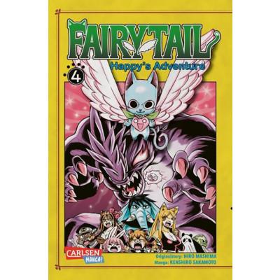 Fairy Tail - Happy's Adventure 4 Manga