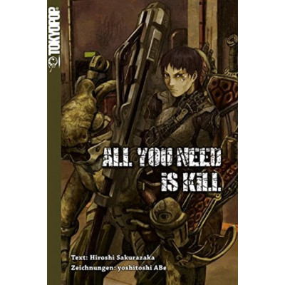 All You Need Is Kill Novel Manga