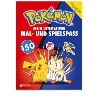 Pokémon: Mein ultimativer Spiel- und Malspaß Artbook