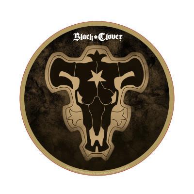 Black Clover - Black Bull Flag - Round Mousepad