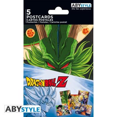 Dragon Ball Z DBZ postcards