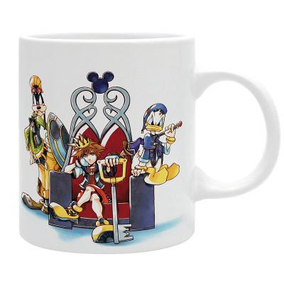 Kingdom Hearts - Sora, Goofy, Donald - 320ml Tasse