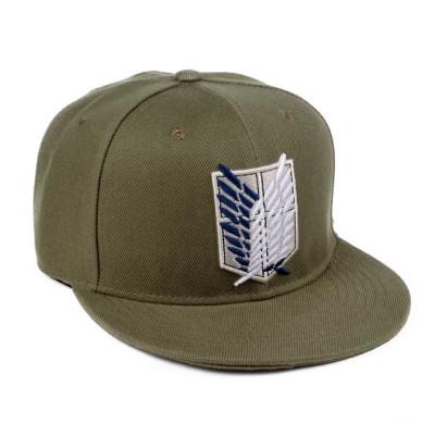Attack on Titan Logo Kaki cap