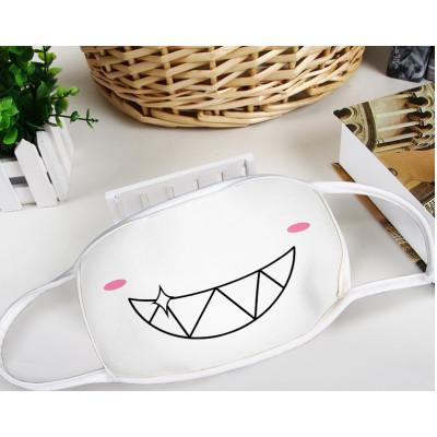 Neko smiling Manga Face Mask