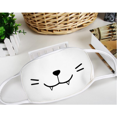 Neko Vampire teeth Manga Face Mask