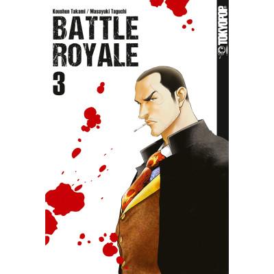 Battle Royale Sammelband 3 Manga