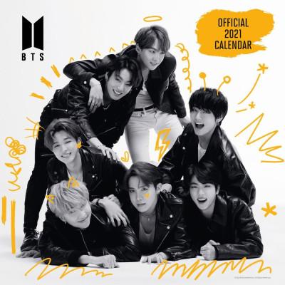 BTS - Calendar 2021 English