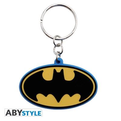 DC Comics Batman Logo Gummy Keychain