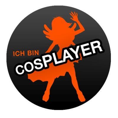 """""""Ich bin Cosplayer"""" Button"""