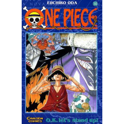 One Piece 10 Manga