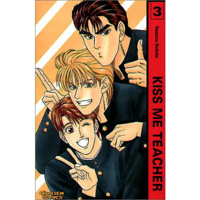 Kiss me Teacher  3 Manga (gebraucht)