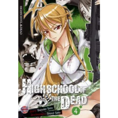 Highschool of the Dead  3 Manga