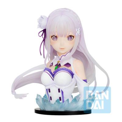 PREORDER - Re:Zero - Emilia - May The Spirit Bless You - 23cm PVC Bust