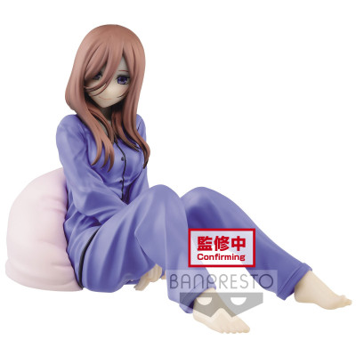 PREORDER ♦ The Quintessential Quintuplets - Miku Nakano - Sleep Wear - 11cm PVC Statue