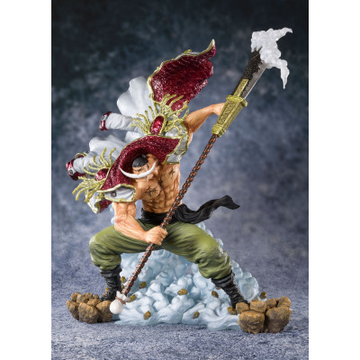 COLLECTOR ♦ One Piece FiguartsZERO PVC Statue Edward Newgate (Whitebeard) -Pirate Captain- 27 cm figure