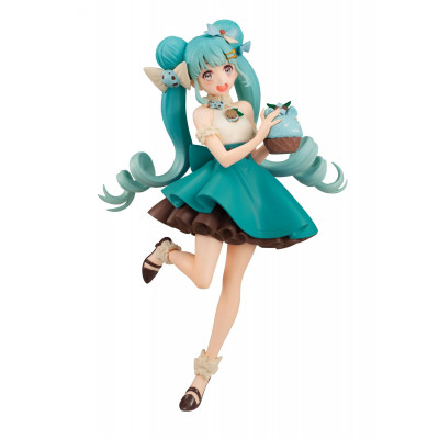PREORDER - Vocaloid - Hatsune Miku - Sweet Sweets - Mint Chocolate Ver. - 17cm PVC Statue