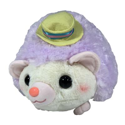 Amufun Amuse Hedgehog Harin Style purple 32cm Plush