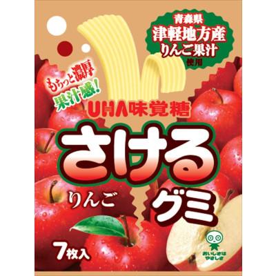 Fruit gum strips - apple 32.9g