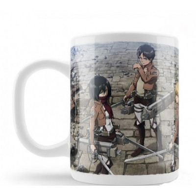 Attack On Titan Trio 320ml Mug