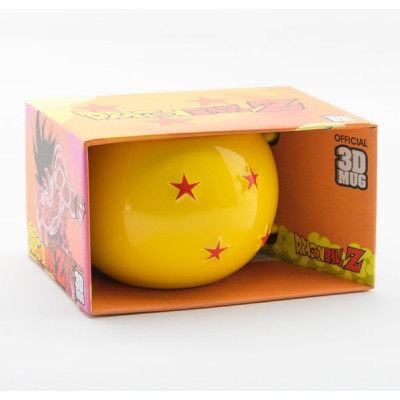 Dragon Ball Z 4-Sterne Ball 400ml 3D Mug