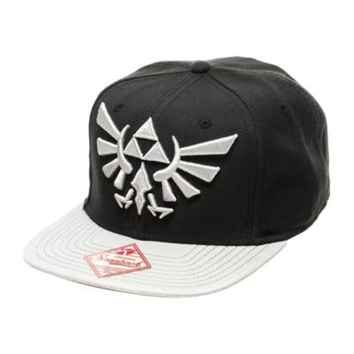 Nintendo Black Zelda Grey Logo Hip Hop Cap