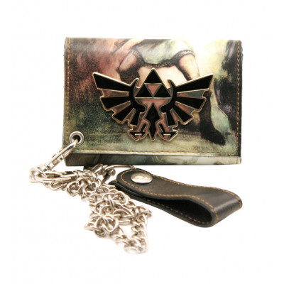 The Legend of Zelda Triforce Zelda Wallet