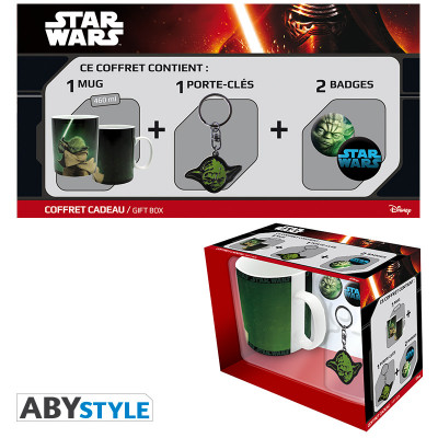 Star Wars Gift box with Mug, Keychain and Buttons
