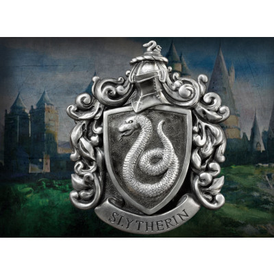 Harry Potter Slytherin Crest with Wall Mount