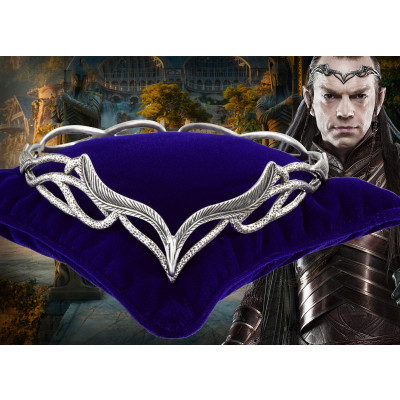 The Hobbit: An Unexpected Journey Replica Silver Plated 1/1 Elrond's Headdress