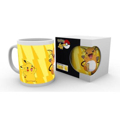 Pokemon Pichu Pikachu Raichu 320ml Tasse