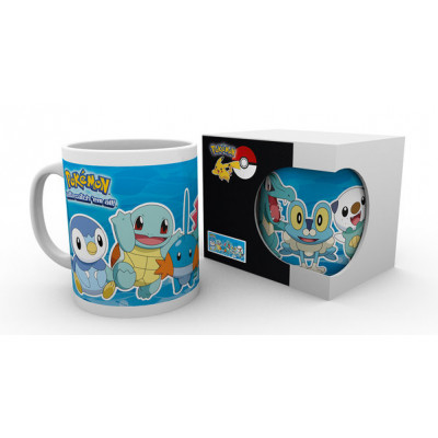 Pokemon Shiggy Water Partners 320ml Tasse